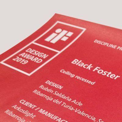 Black Foster, IF Design Award Winner 2019